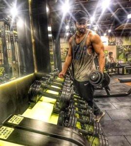 Shoaib Ibrahim at Gym