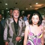 Rekha Mallya with her present husband Vijay Mallya