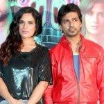 Richa Chadda with Nikhil Dwivedi