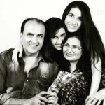 Sheena Bajaj with her family