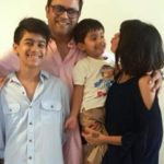 Sanjeev Seth With His Family