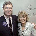 Tom Vilsack with his wife