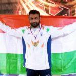 Saksham Yadav gold medal in 2017