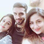 Ankita Mayank Sharma with her siblings