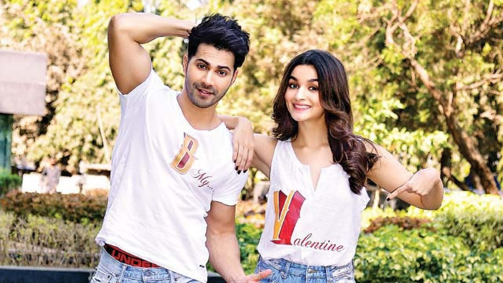 Varun and Alia