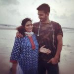 Gajendra Verma With His Mother