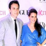 Neha Dhupia with James Sylvester