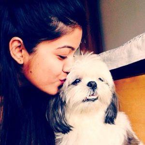 Ishita Dutta loves dogs