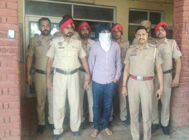 Baljinder Singh arrested by Zirakpur police
