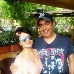 Roop Durgapal with her husband Deepak Nailwal