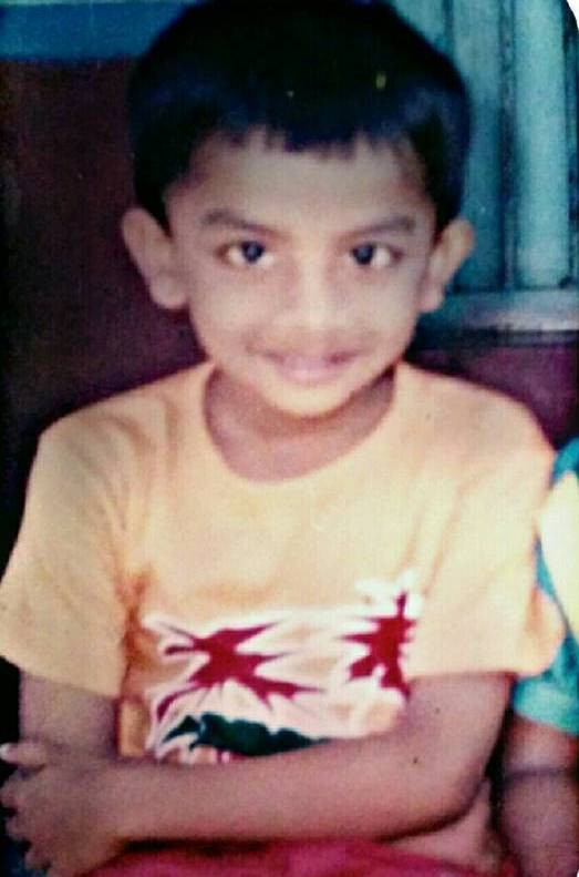 Chandan Shetty's childhood picture