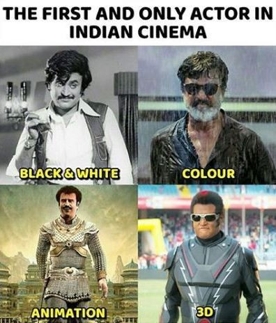 Rajinikanth in 4 different forms of filming