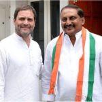 Nallari Kiran Kumar Reddy With Rahul Gandhi