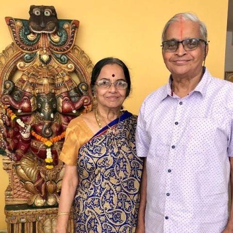 R. Madhavan's parents