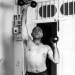 Amrish Puri Doing Exercise