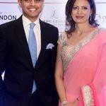 Sachin Pilot With His Wife Sarah