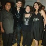 Dabboo Ratnani with his parents & wife