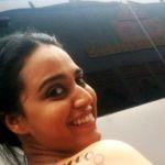 Swara Bhaskar - Lunar phase of Moon tattoo on right back
