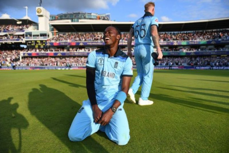 Jofra Archer After His Super Over Haul in the 2019 World Cup Final