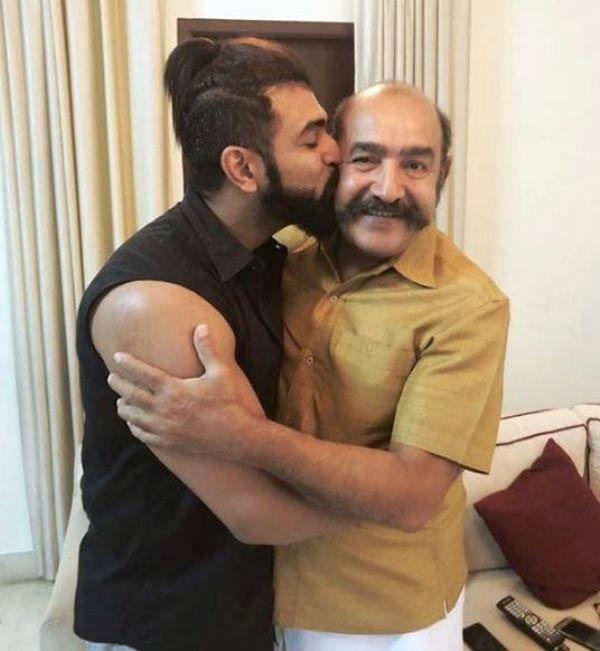 Arun Vijay with His Father
