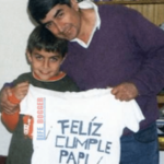 Paulo Dybala with his Father