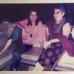 Farah Khan with her mother, Menaka Irani
