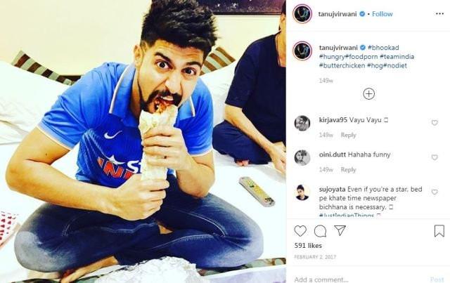 Tanuj Virwani's Instagram Post