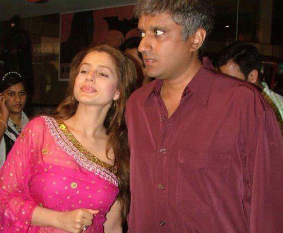 Ameesha Patel with Vikram Bhatt