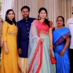 Ajay Manthena with his parents, wife Richa Gautam, brother Suresh Manthena, and sister-in-law Akshata Singh