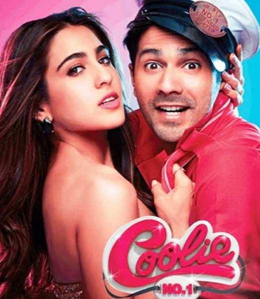 Varun in Movie Coolie No. 1