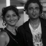 Amit Sial with his wife Aanchal Sial