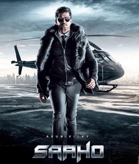 Arun Vijay in Saaho Movie