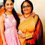 Shivani Patel with her mother