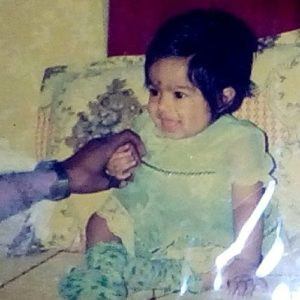 Ishita Dutta childhood pic