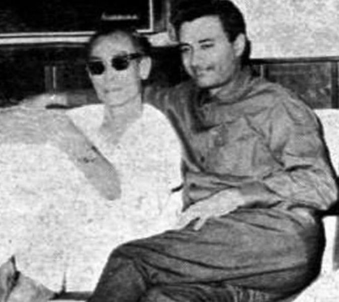 S. D. Burman with Dev Anand