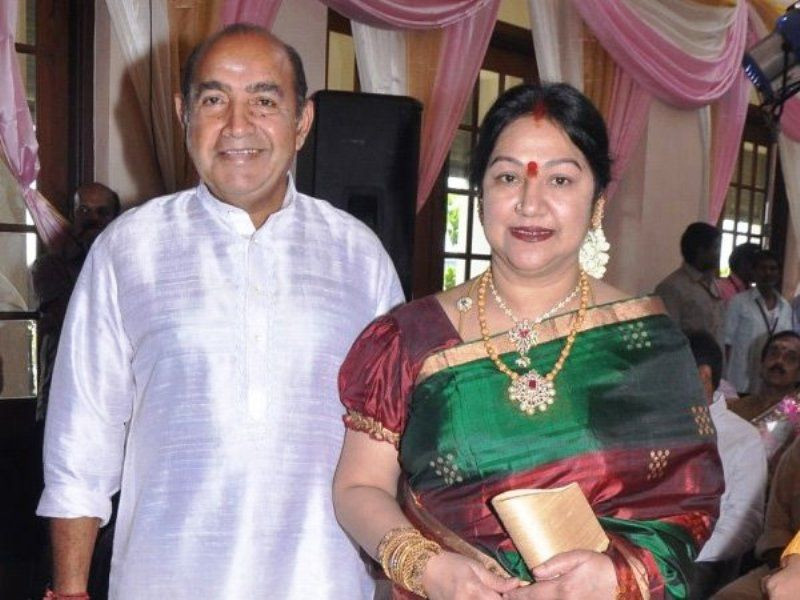 Arun Vijay's Father and Step Mother