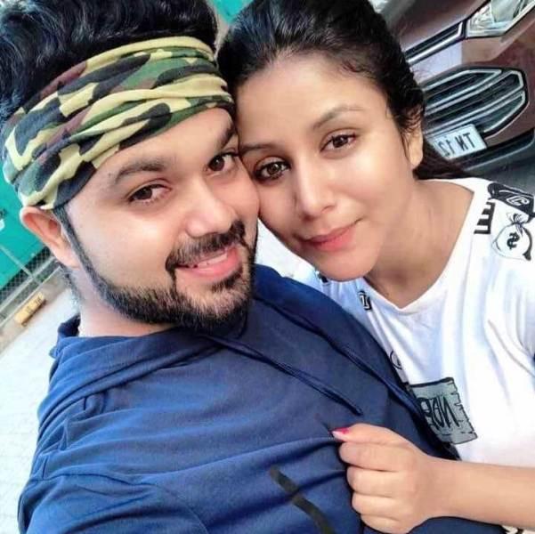 Alya Manasa with Her Husband 'Sanjeev'