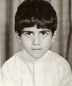 Osama Bin Laden as a child