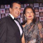 Ritu Beri with Husband