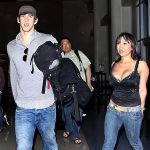 Michael Phelps with his Ex-girlfriend Caroline Pal