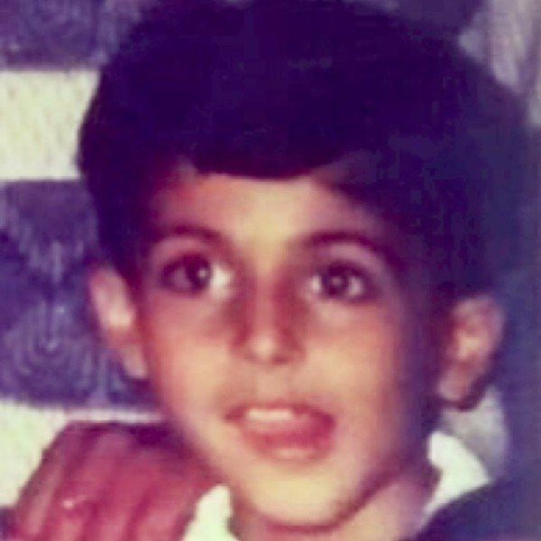 Dheeraj Dhoopar's childhood picture