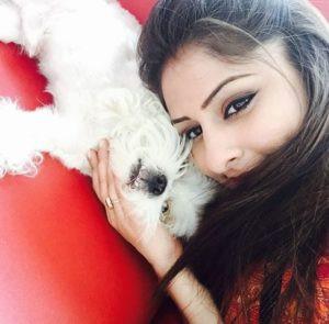 Ankita Mayank Sharma- Dog Lover