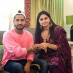 Jassie Gill with his sister
