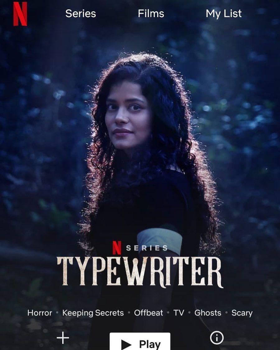 """Palomi Ghosh as 'Jenny' in """"Typewriter"""""""
