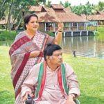 Ajit Jogi with his wife