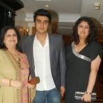 Mona Shourie Kapoor With Her Children Arjun And Anshul