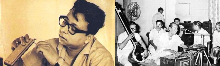R. D. Burman with Music Instruments