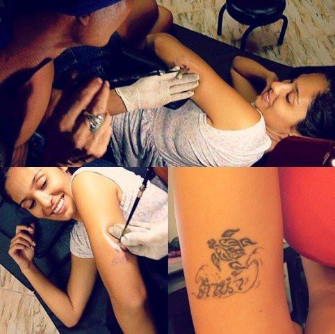 Bruna Abdullah tattoo