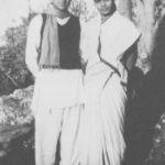 Annapurna Devi With Her Husband Pandit Ravi Shankar
