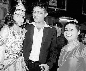 Sana Ganguly as young Krishna